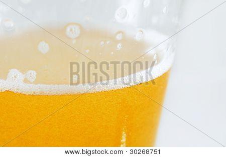 Foaming Cold Beer