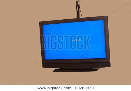 Overhead Monitor In Conference Room