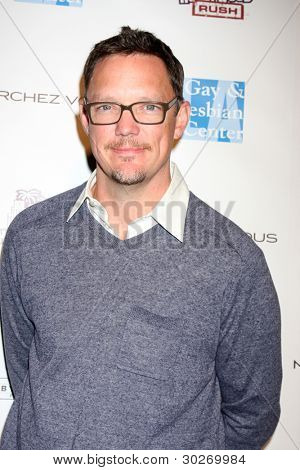 LOS ANGELES - FEB 19:  Matthew Lillard arrives at the 2nd Annual Hollywood Rush at the Wilshire Ebell on February 19, 2012 in Los Angeles, CA.