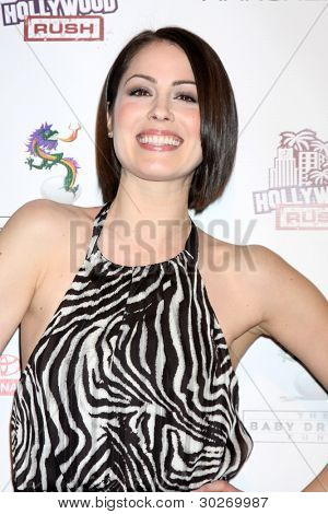 LOS ANGELES - FEB 19:  Michelle Borth arrives at the 2nd Annual Hollywood Rush at the Wilshire Ebell on February 19, 2012 in Los Angeles, CA.