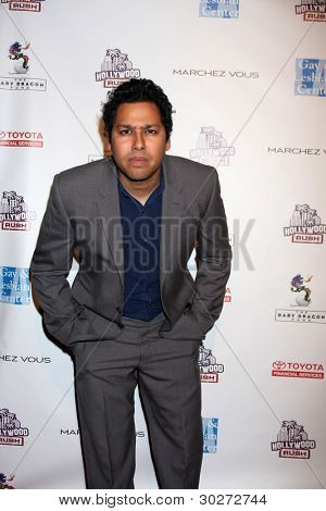 LOS ANGELES - FEB 19:  Dileep Rao arrives at the 2nd Annual Hollywood Rush at the Wilshire Ebell on February 19, 2012 in Los Angeles, CA.