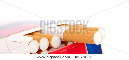 Cigarette in the pack