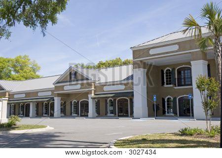 New Strip Center