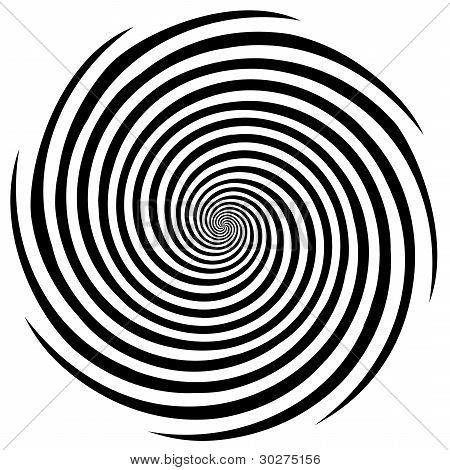 Hypnose Spirale Entwurfsmuster