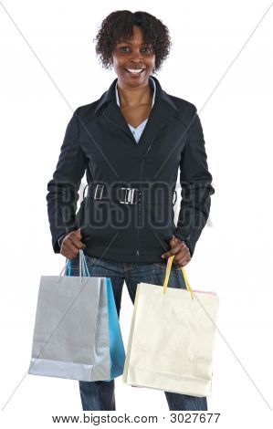 Attractive Shopping Girl