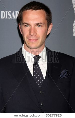 LOS ANGELES - FEB 21:  James D'Arcy arrives at the 14th Annual Costume Designers Guild Awards at the Beverly Hilton Hotel on February 21, 2012 in Beverly Hills, CA.