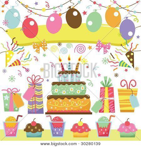 Retro Geburtstagsfeier festgelegt
