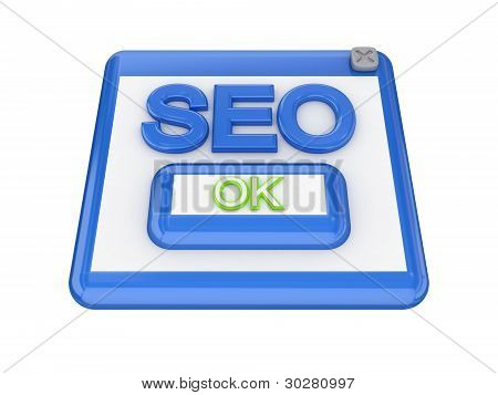 SEO button.