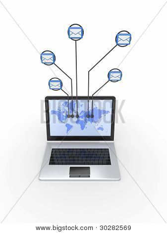 Netzwerk-Konzept.