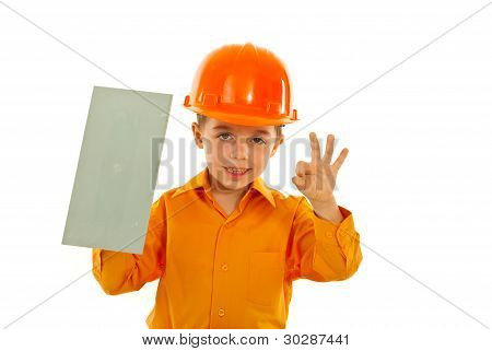 Worker Child With Notched