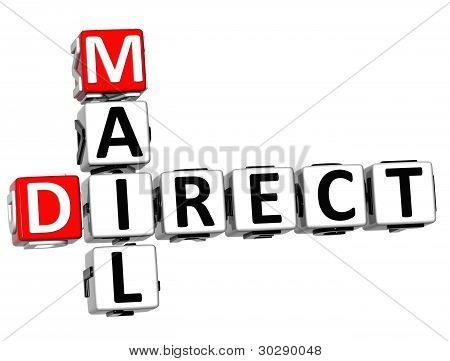 Crucigrama de correo directo de Get 3D