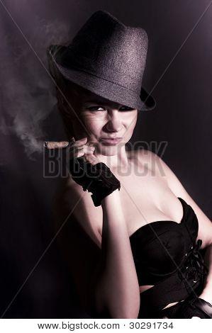 Mysterious Underworld Woman