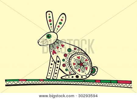 Rabbit vector illustration