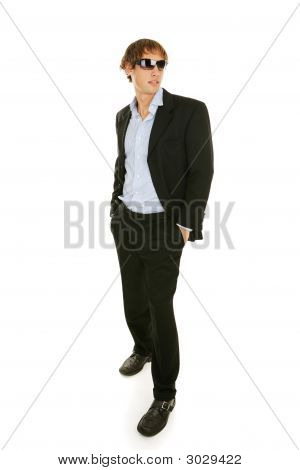 Male Model In Sunglasses - Full Body