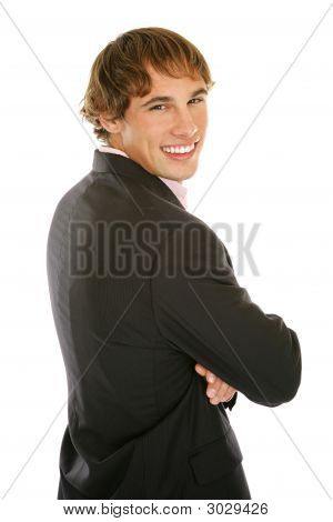 Young Businessman - Smiling