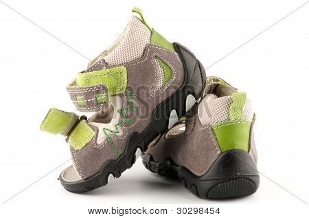 Baby Shoes Sandals with Velcro fastener