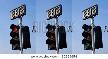 3 Step of Traffic Light