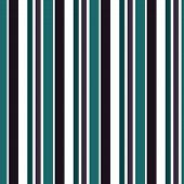 Retro Stripe Pattern With Navy Blue, White, And Black Parallel Stripe. Vector Pattern Stripe Abstrac poster