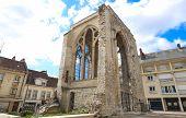 Saint Barthelemy Collegiate Church Is A Gallo Roman Ruin In Beauvais., Hauts-de-france, France. poster