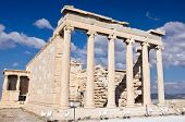 Erechtheion. Acropolis of Atheens, Greece