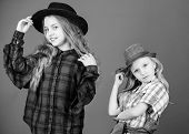 They Got Great Style. Small Cute Fashion Models. Fashionable Children In Fashion Clothing And Access poster