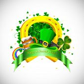stock photo of saint patricks day  - illustration of Saint Patrick - JPG