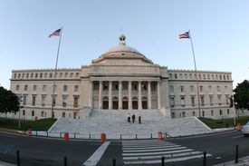 picture of san juan puerto rico  - This as the capitol Building of Puerto Rico - JPG