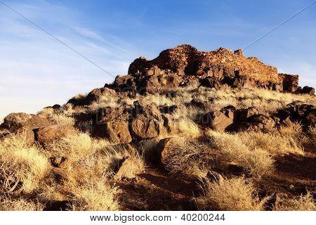 The Citadel ruins at Wupatki National Monument in Arizona