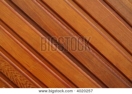 Varnished Planking