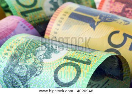 Fundo de dinheiro australiano