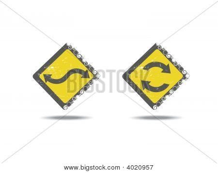Grunge Icon Set