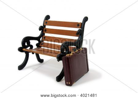 Briefcase And Bench