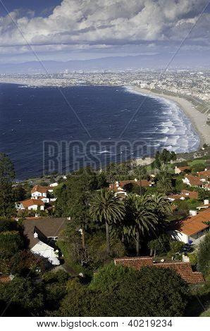 Coastline From Palos Verdes To Santa Monica