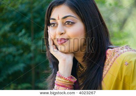 Beautiful Indian Woman Faces Indian Woman Face Closeup