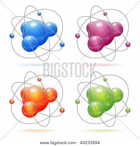 Set Atom Model