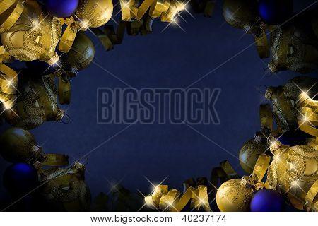 dunkel blau Weihnachten