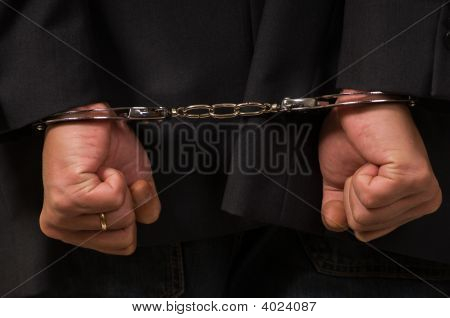 Man Handcuffed