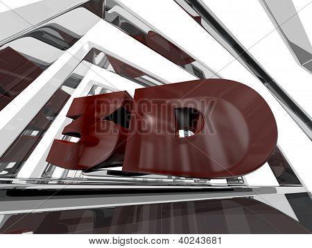 Red 3D Design