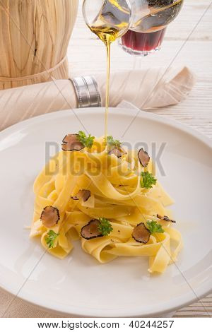 Tagliatelle With Summer Truffle