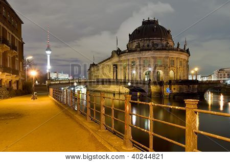 Berlin, Germany, At Night