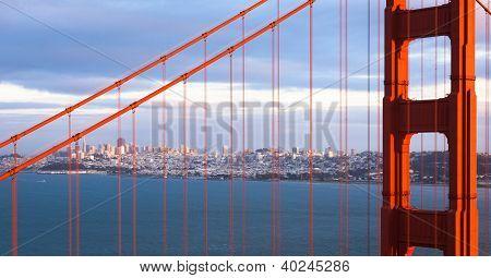 San Francisco Through The Bridge