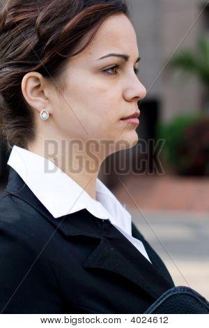 Negócios executivo feminino