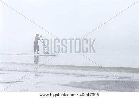 Foggy Morning Boarding