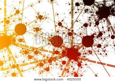 Network Paint Splatter