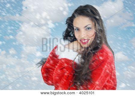 angenehme Winter vor Weihnachten