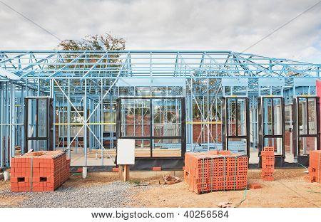 Nueva estructura de construcción de viviendas