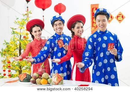 Welcome To Celebrate Tet!