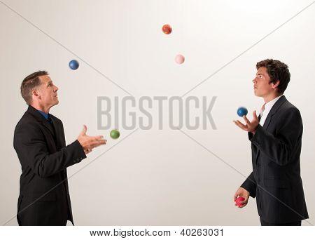 Juggling Businessmen
