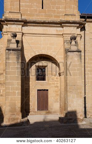 Church Of Sajazarra, La Rioja, Spain