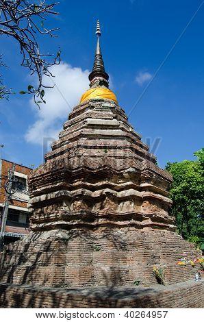 Stupa de Wat Chettha, Chiang Mai